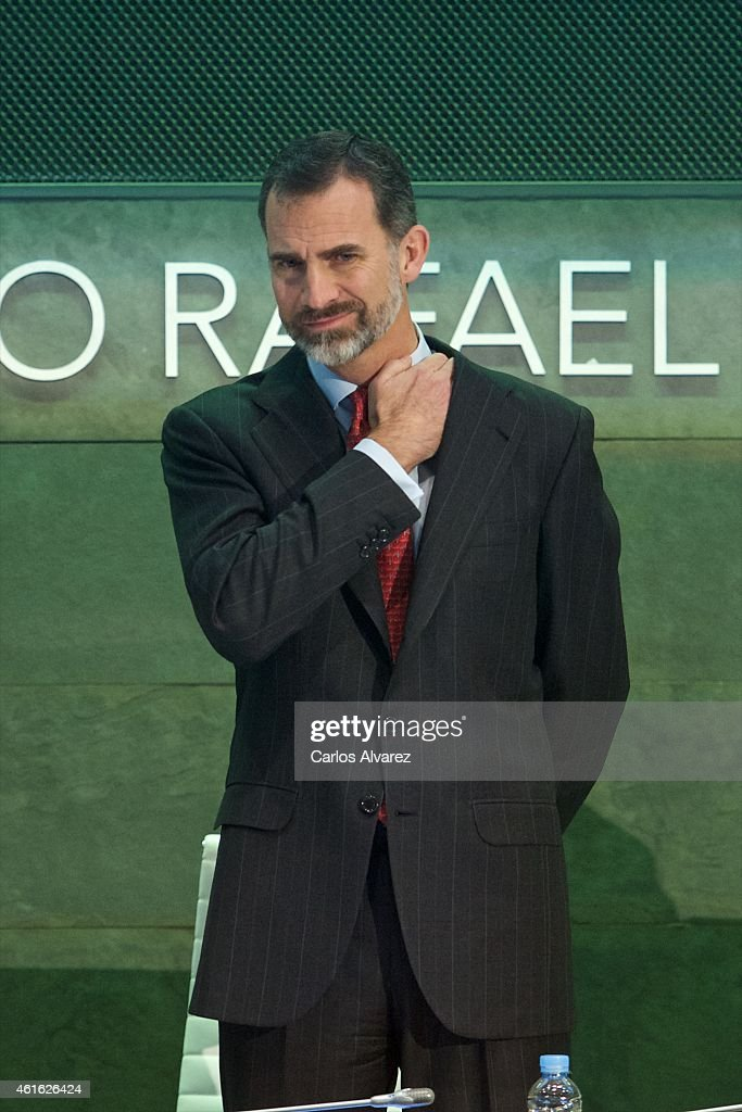 King Felipe VI of Spain Attends CODESPA Awards 2015