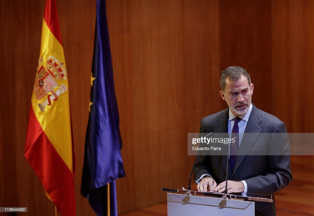ESP: King Felipe of Spain Attends CODESPA Awards