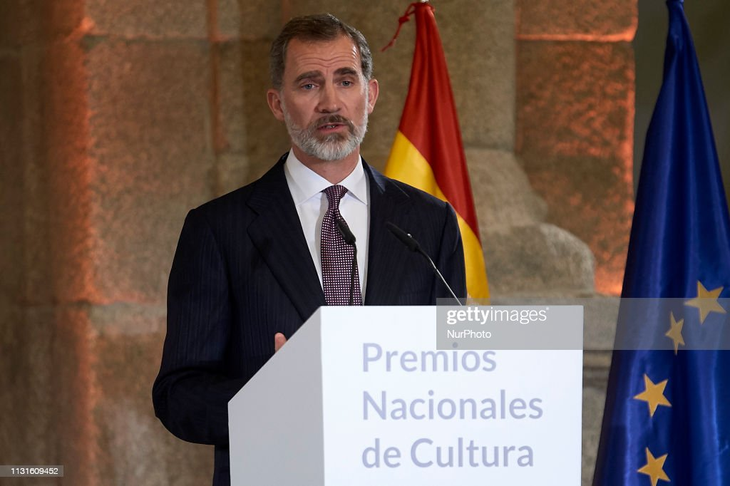 ESP: Spanish Royals Attends The National Culture Awards 2017