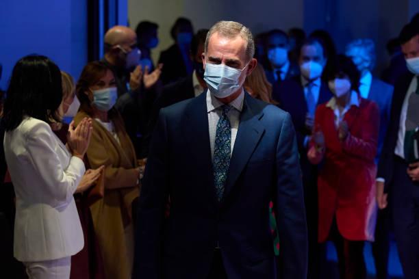 ESP: King Felipe Of Spain Inaugurates 'Enlighted Hybrid Edition' In Madrid