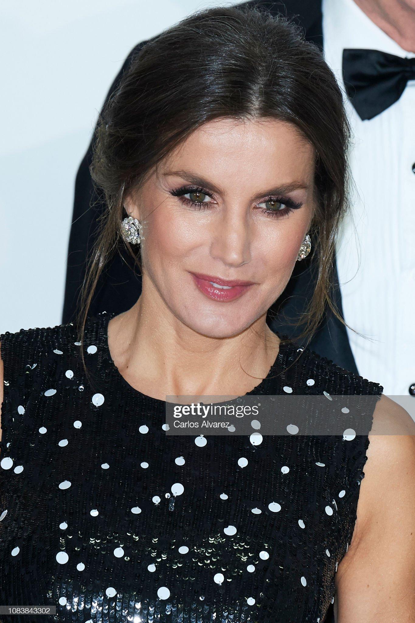 Spanish Royals Attend Dinner Honouring Journalism Awards Winners : News Photo