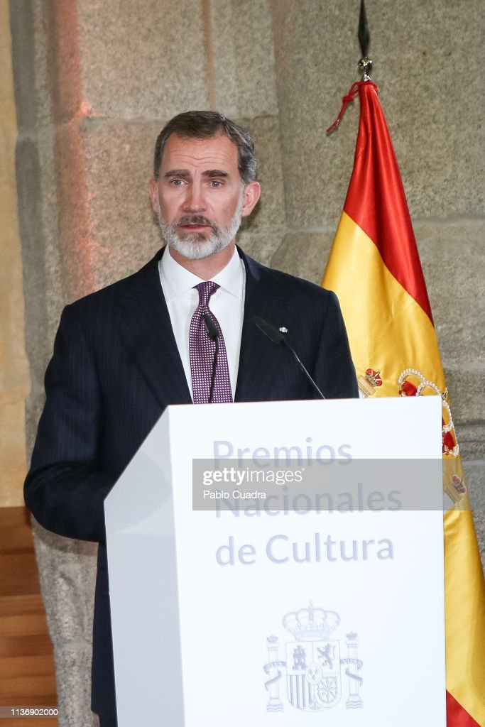 ESP: Spanish Royals Attend National Culture Awards