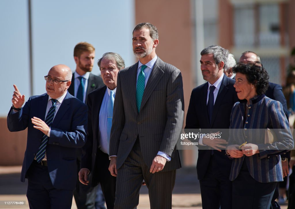 ESP: King Felipe of Spain Attends 'Princesa de Girona' Awards Winner In Canary Islands