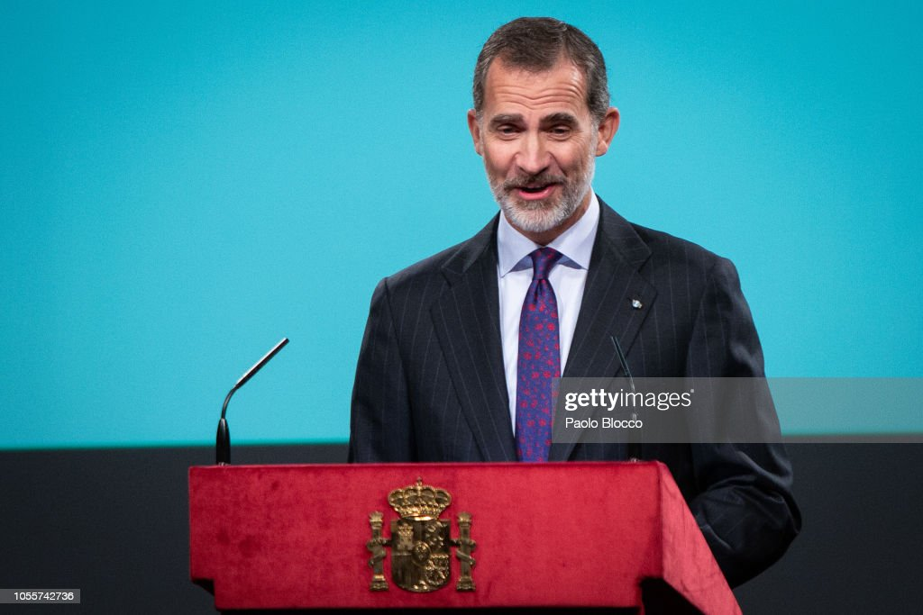 Spanish Royals Attend The Lecture of The Constitution on Its 40th Anniversary : News Photo