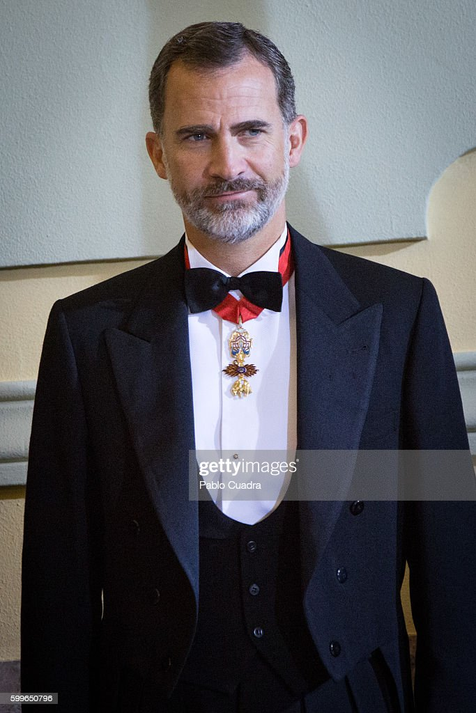 King Felipe of Spain Opens The Judiciary Year 2016/ 2017