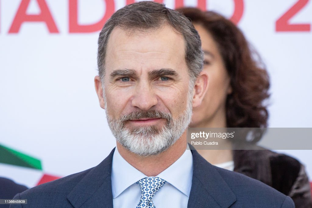 ESP: King Felipe Of Spain Inaugurates  XXXVIII Harvard World Model United Nations in Madrid