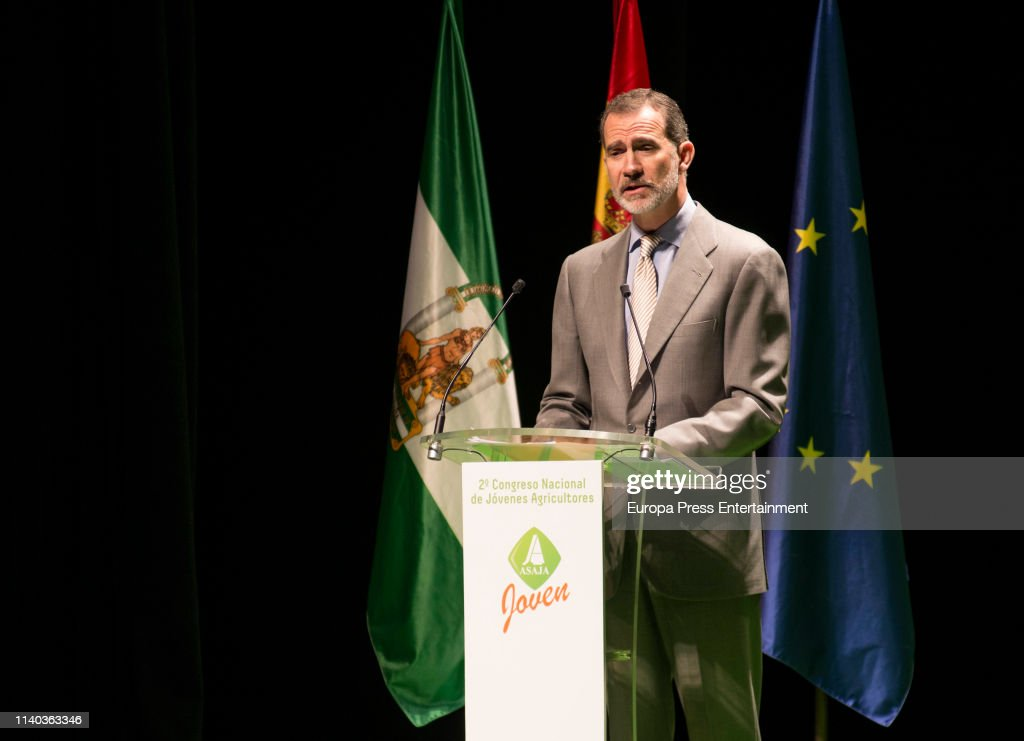 ESP: King Felipe VI Closes The 2nd National Congress of Young Farmers of Asaja