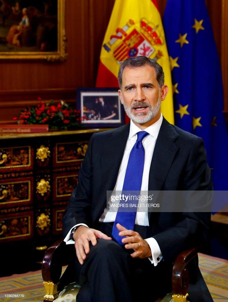 SPAIN-ROYAL-CHRISTMAS : Nachrichtenfoto