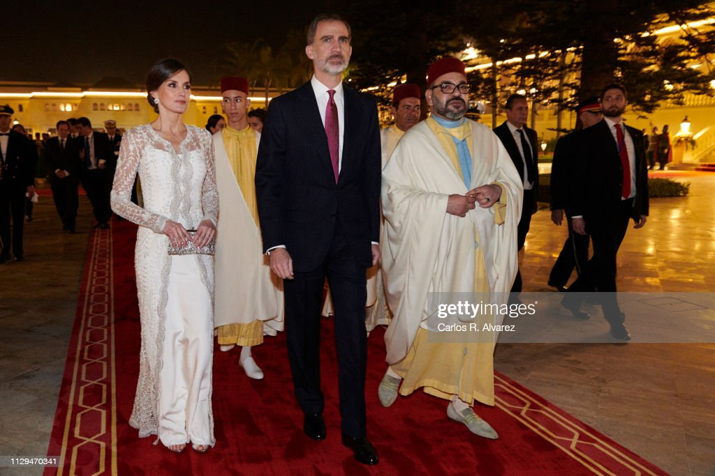 Day 1 - Spanish Royals Visit Morocco : News Photo