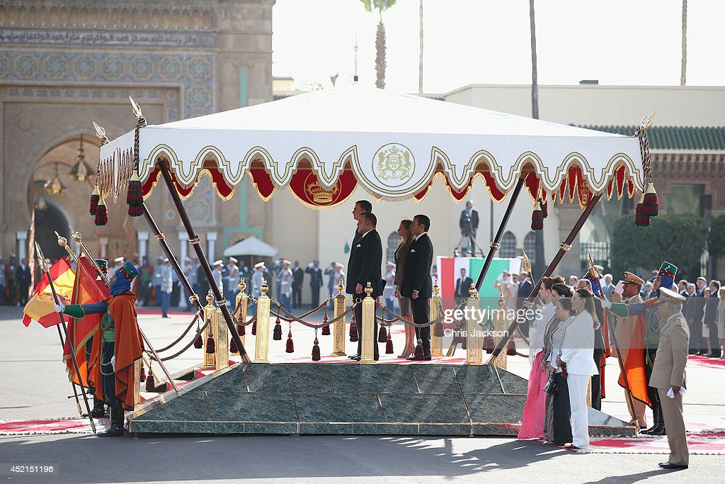 Spanish Royals Visit Morocco - Day 1 : News Photo