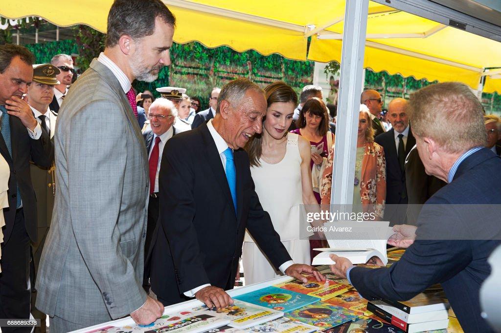Spanish Royals Inugurate Books Fair 2017