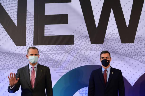 ESP: King Felipe And Pedro Sanchez Attend Barcelona New Economy Week BNEW 2020