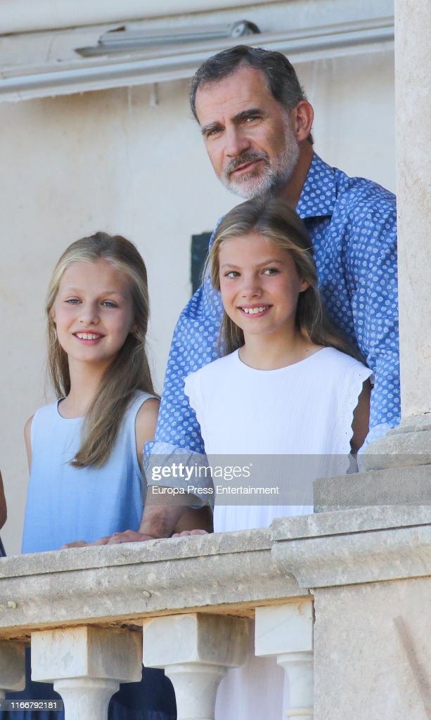 Spanish Royals Visit 'Son Marroig' Museum : News Photo