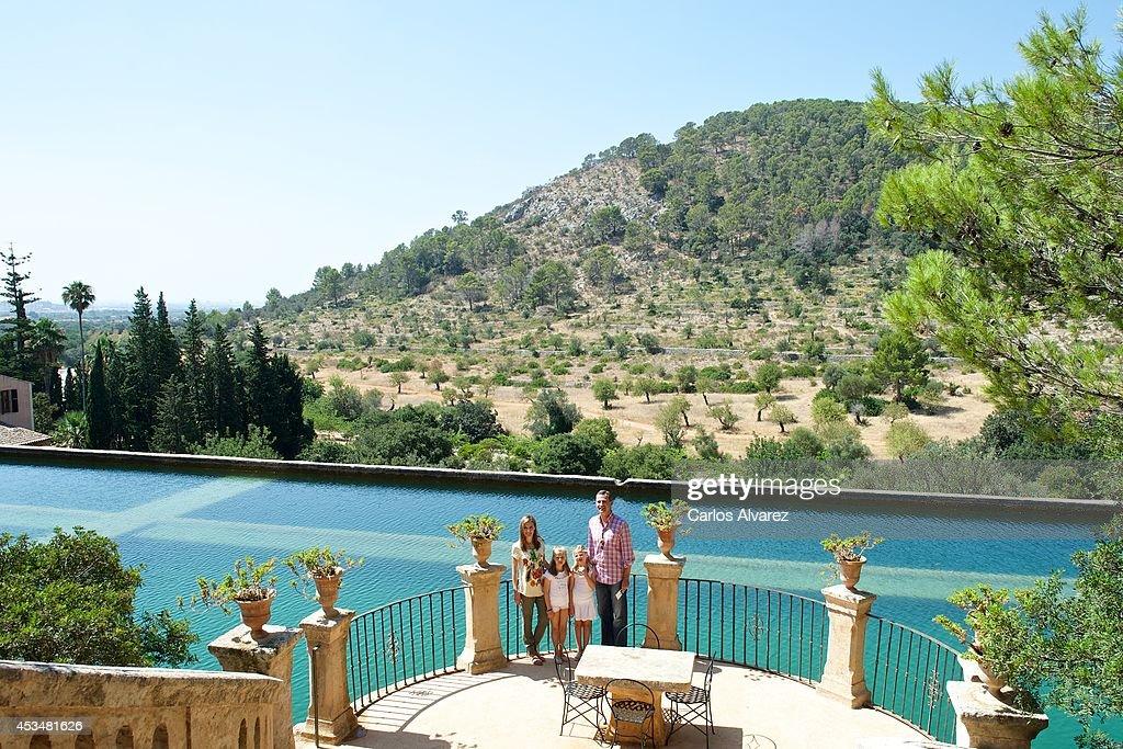 "Spanish Royals Visit ""Sierra de Tramuntana"" in Palma de Mallorca, Spain : News Photo"