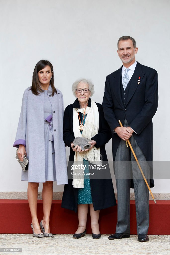 ESP: Spanish Royals Attend 'Miguel de Cervantes' Literature Awards