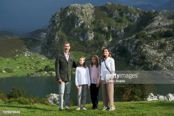 King Felipe VI of Spain Queen Letizia of Spain Princess Leonor of Spain Princess Sofia of Spain attend the Centenary of the creation of the National...