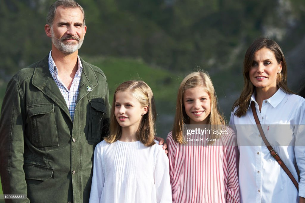 Spanish Royals Attend 13th Centenary Of The Reign Of Asturias : News Photo