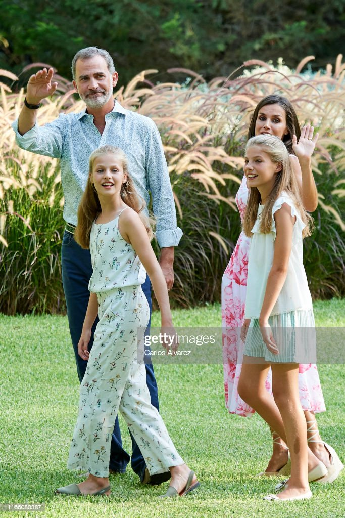 Spanish Royals Summer Photocall In Palma de Mallorca : News Photo