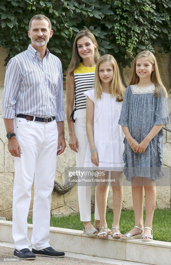 Spanish Royals Sighting in Palma de Mallorca : News Photo