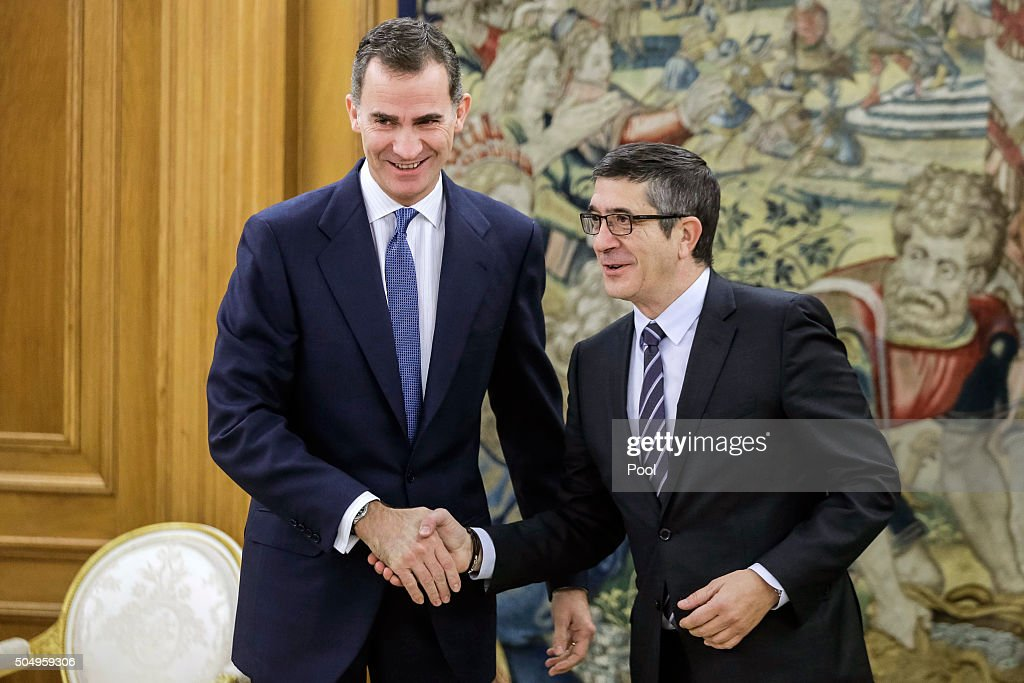 King Felipe of Spain Meets President of The Congress and President of the Senate