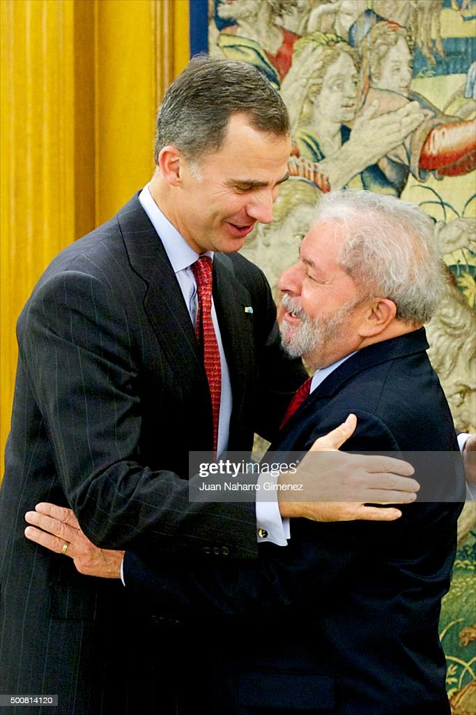 King Felipe of Spain Attend Audiences at Zarzuela Palace : News Photo
