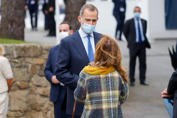ESP: King Felipe VI Of Spain Inaugurates The 2nd La Toja Forum