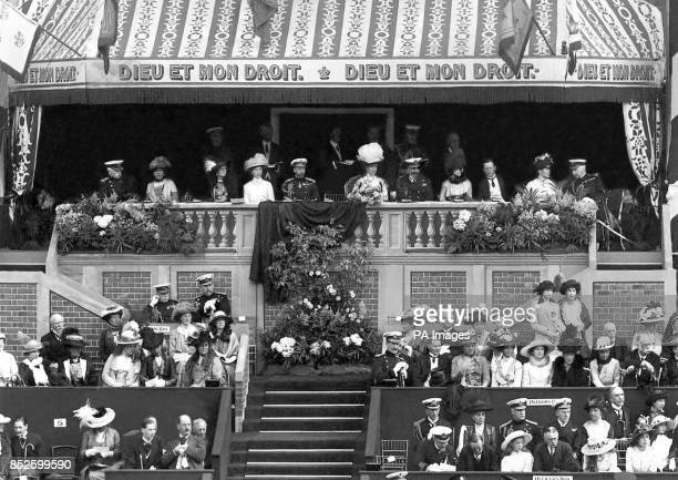 King George at the Royal Naval and Military Tournament. *scanned low res off print, high res available*