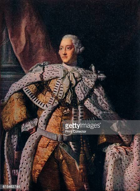 King George III' c176162 George III was King of Great Britain and Ireland from 25 October 1760 until the union of the two countries on 1 January 1801...