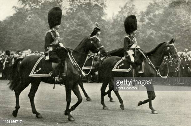 King George Riding With the Late King George V and the Prince of Wales at the Trooping of the Colour, Horse Guards Parade, 1928.', 1937. The Duke of...