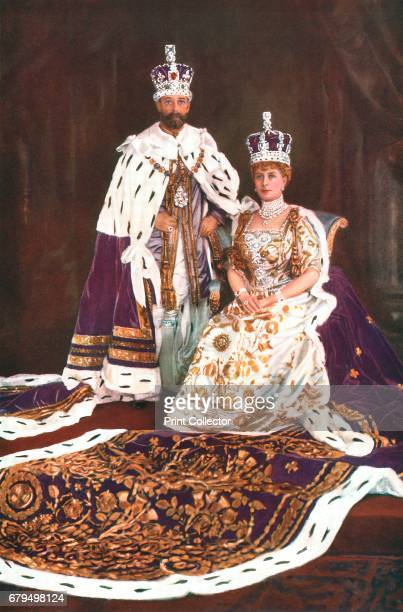 King George V and Queen Mary 1911 From 'The Illustrated London News Silver Jubilee Record Number 19101935' [The Illustrated London News and Sketch...