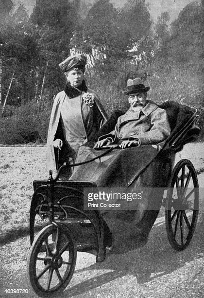 King George V and Queen Mary at Craigwell House Aldwick near Bognor Regis c1930s George the second son of Edward VII and Alexandra of Denmark was...