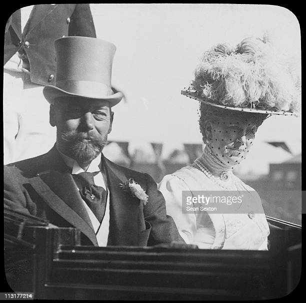 King George V and Queen Mary in Dublin during a visit to Ireland July 1911