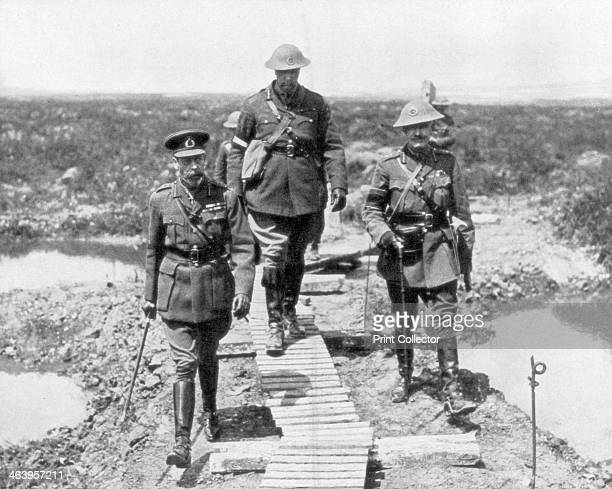 King George V and the Canadian General Currie view the captured ground at Vimy and Messines 1917 The Battles of Vimy Ridge and Messines were notable...