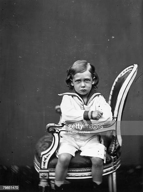 King George V as a child circa 1869