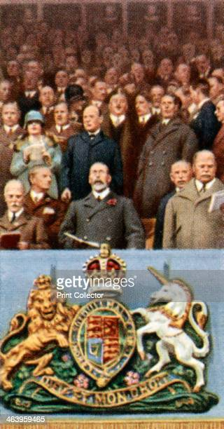 King George V at the Cup Final Wembley April 23rd