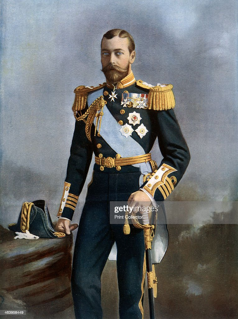 King George V, early 20th century.Artist: Lafayette : News Photo
