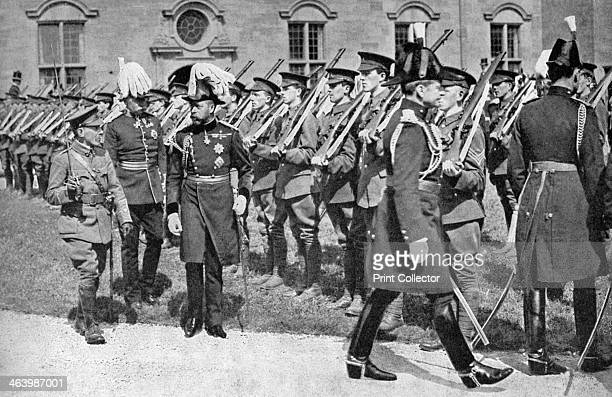 King George V inspecting the Officer Training Corps at Bangor University College c1920s George the second son of Edward VII and Alexandra of Denmark...