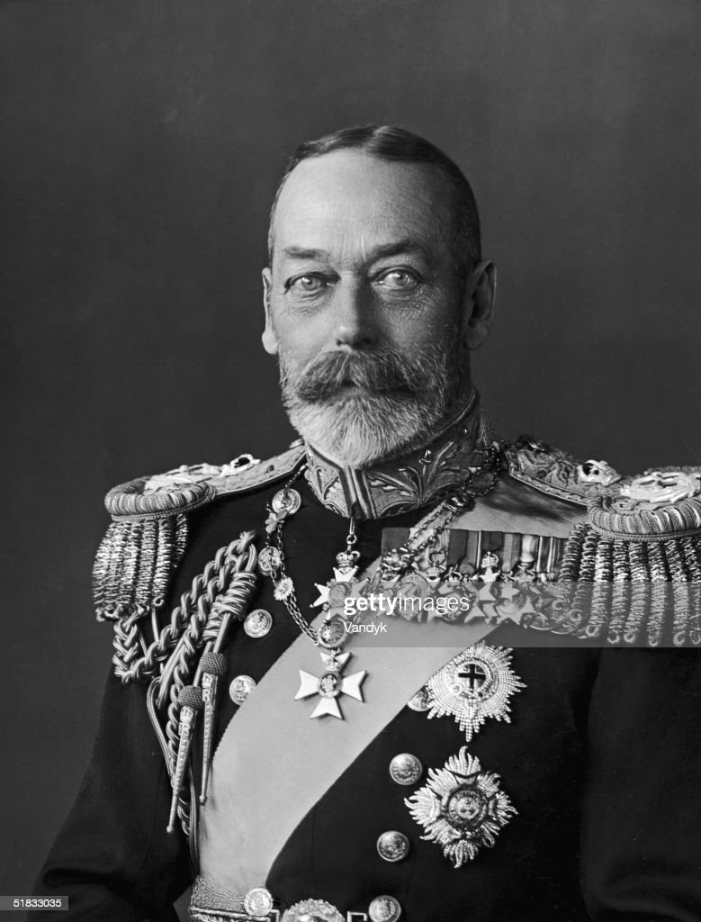 King George V of Great Britain (1865 - 1936), in his Silver Jubilee year, 1935.