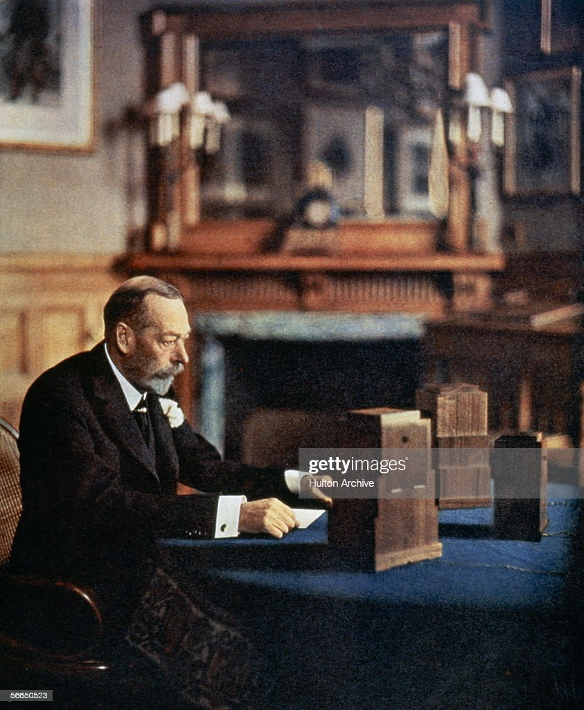 George V On Air : News Photo