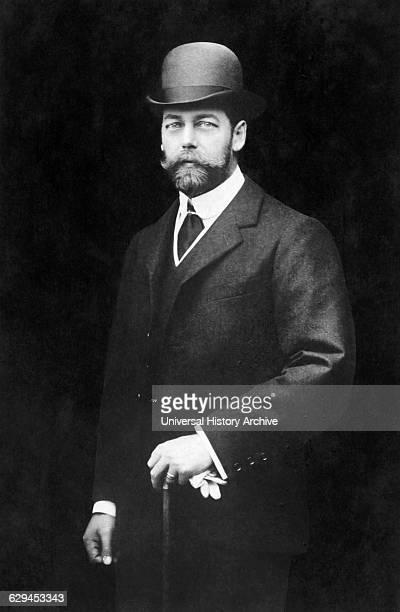 King George V of United Kingdom as Prince of Wales Portrait circa 1902