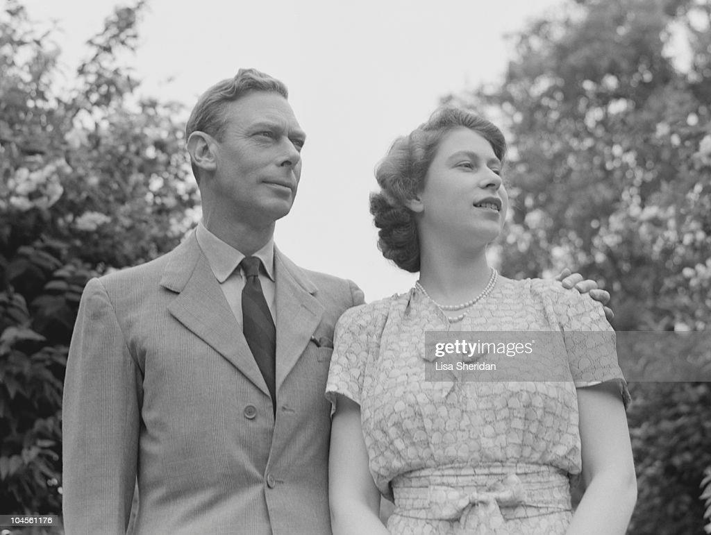 King George VI : News Photo