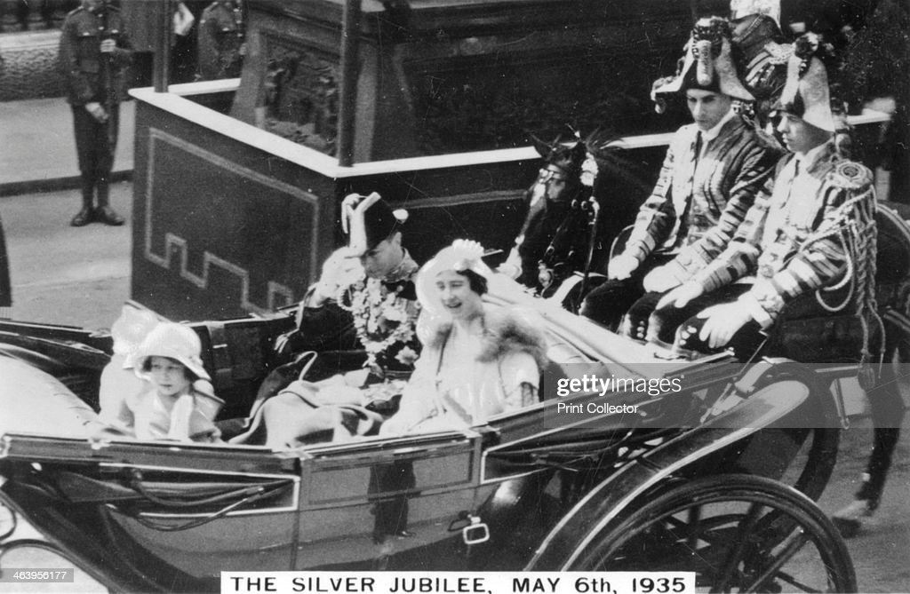 King George V's Silver Jubilee, London, 6th May, 1935. : News Photo