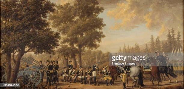 King Gustav III of Sweden in the RussoSwedish War 1789 Found in the collection of Nationalmuseum Stockholm