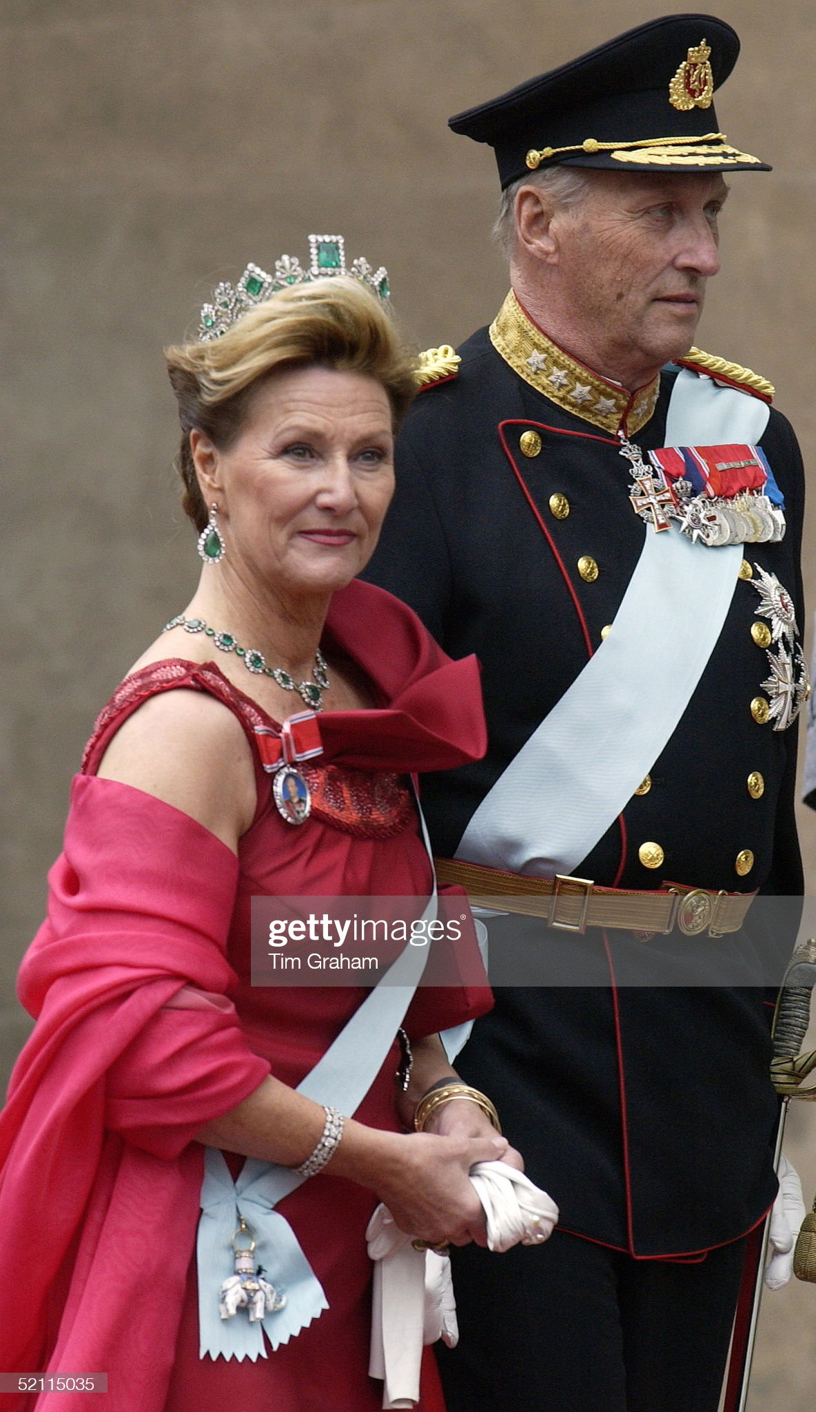 Harald And Sonja Of Norway : News Photo