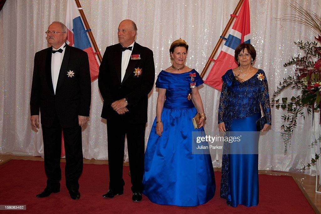 Norwegian Royals State Visit - Slovakia : News Photo
