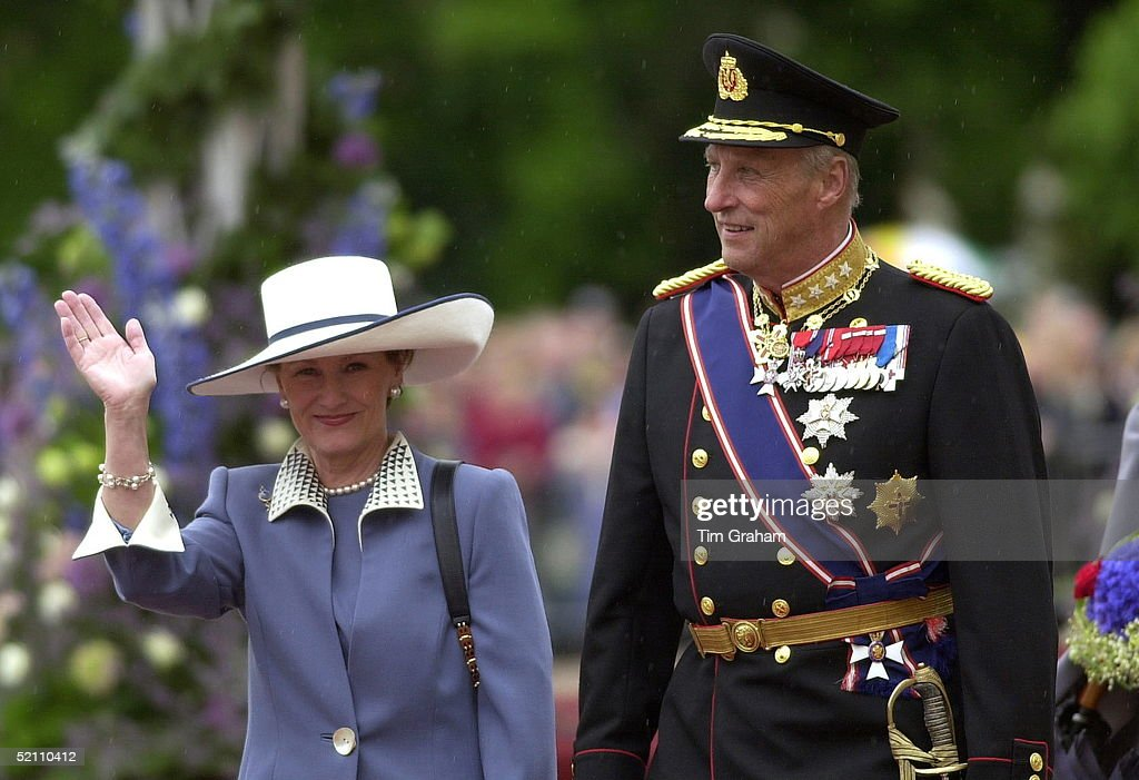 King Harald Queen Sonja Norway : News Photo