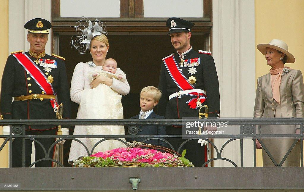 Christening Of Her Royal Highness Princess Ingrid Alexandra : News Photo