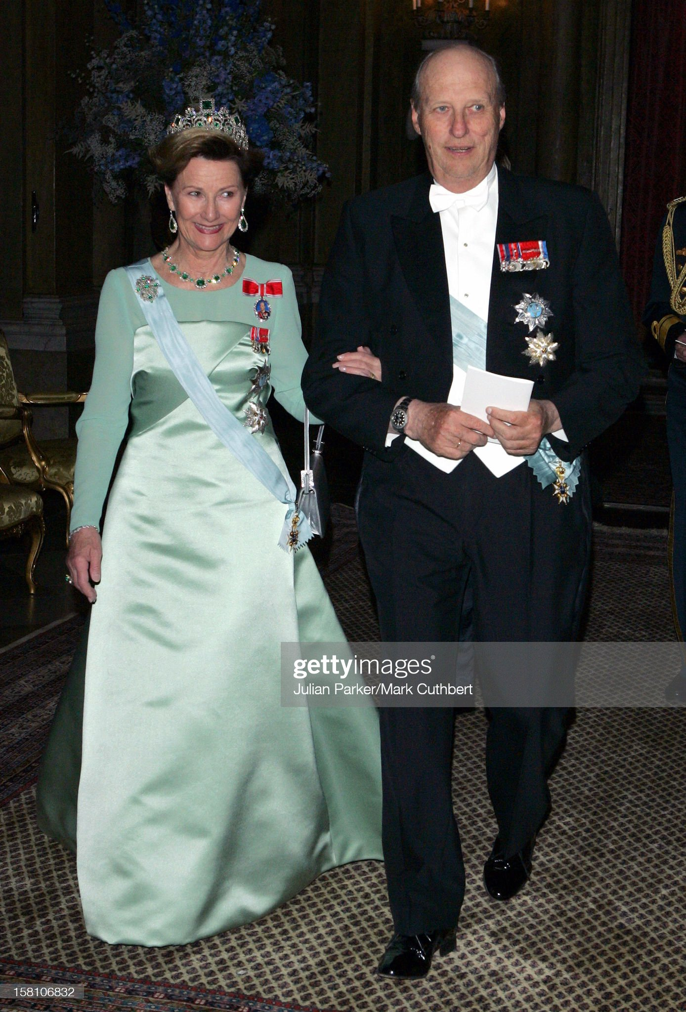 King Carl Gustaf Of Sweden'S 60Th Birthday Celebrations : News Photo