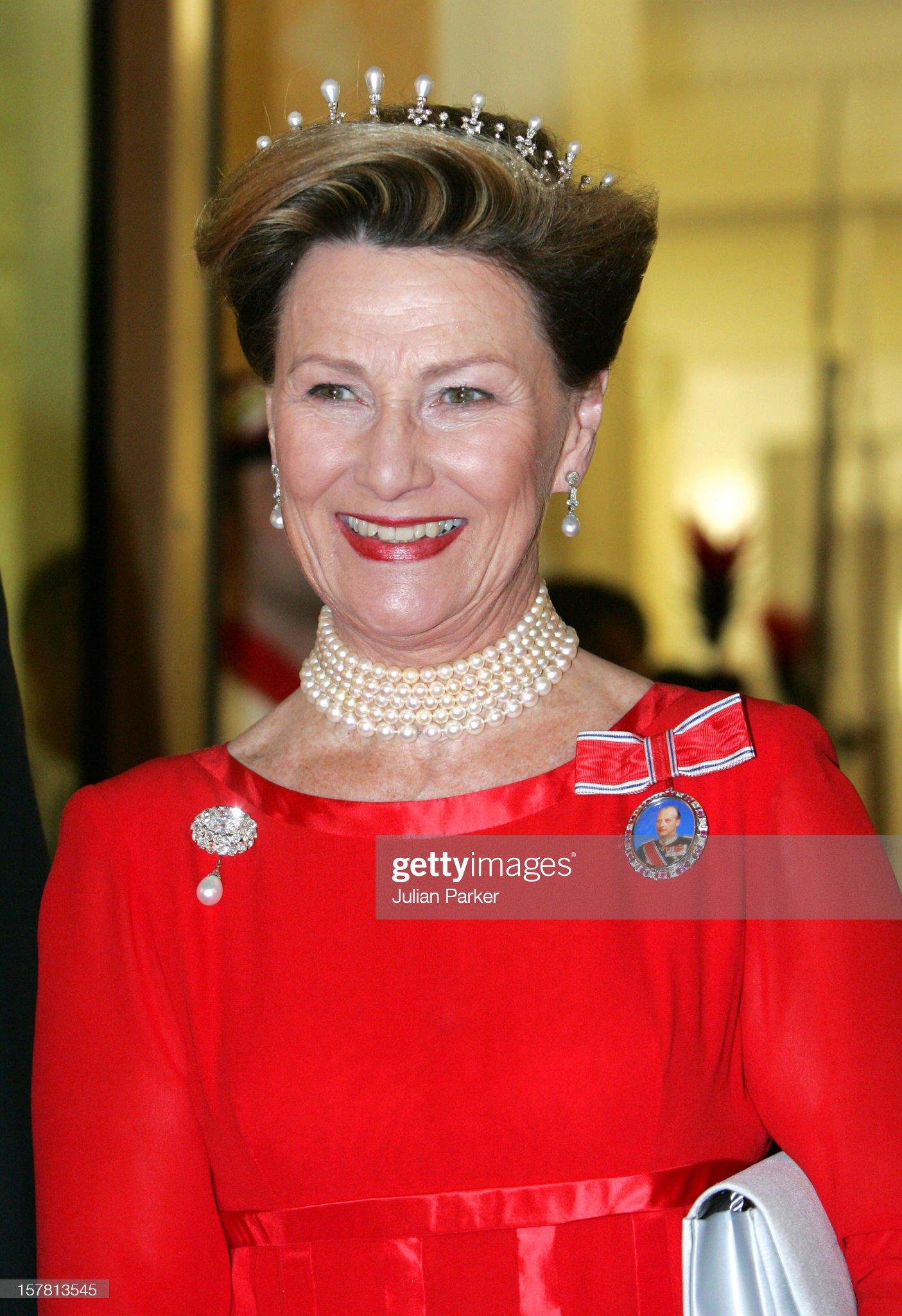 King Harald & Queen Sonja Of Norway State Visit To Switzerland : News Photo