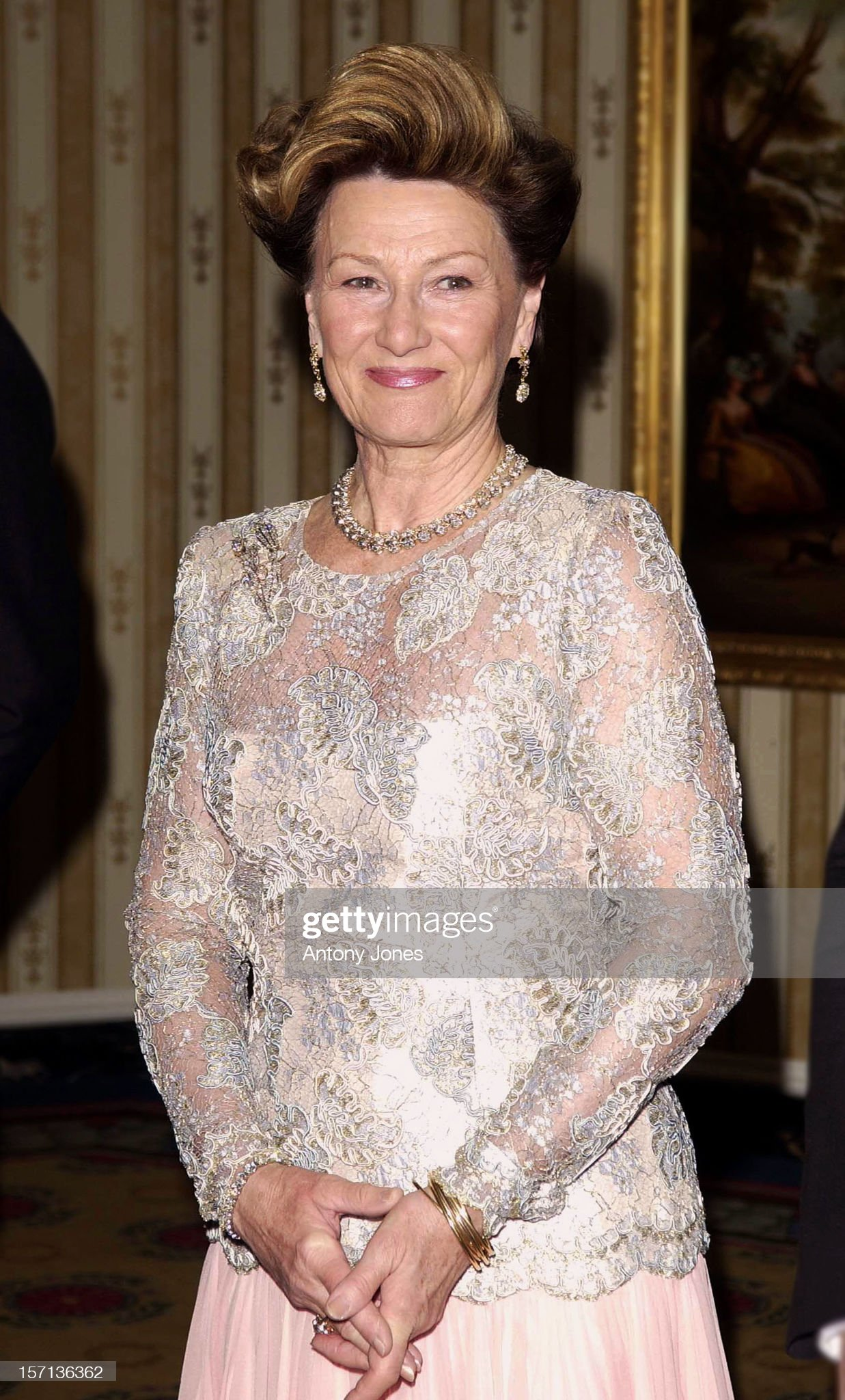 King Harald & Queen Sonja Of Norway Visit To Usa : News Photo